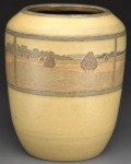 Value of Marblehead Vase With Landscape Scene