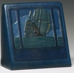 Value of Marblehead Pottery Bookends